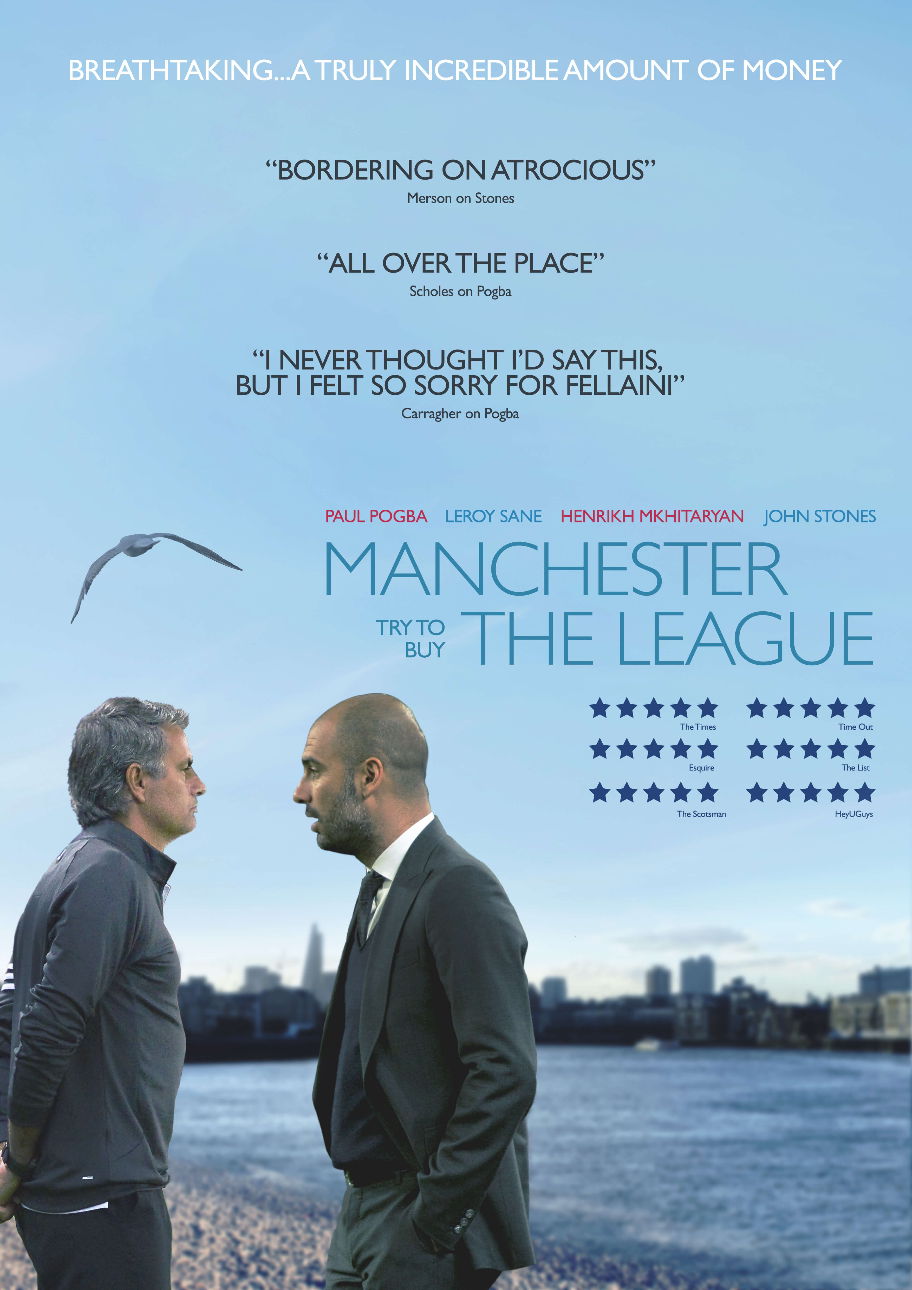 Enhanced Bets Premier League Oscar Nominations - Manchester Try To Buy The League