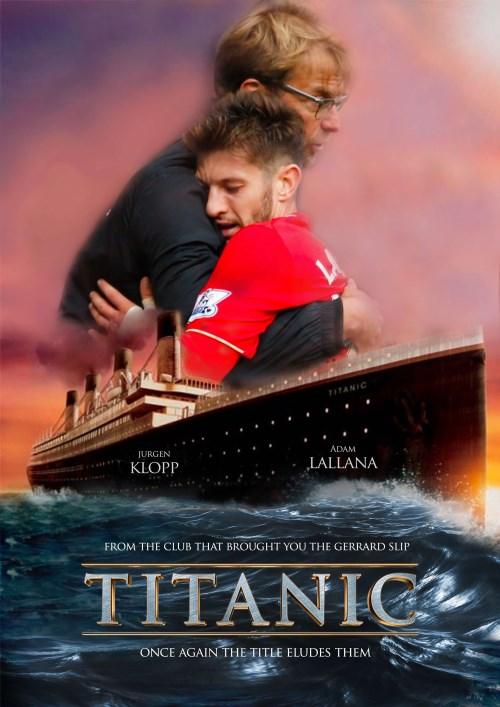 Premier League Oscars - Titanic