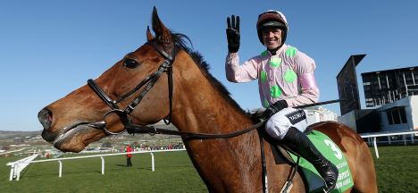 Winning Cheltenham jockey on the first day of the festival