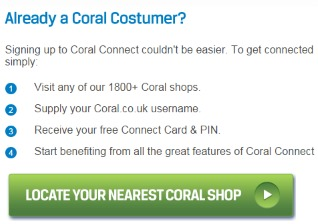 How to link Coral Connect to your online account