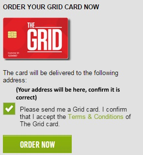 Order your card